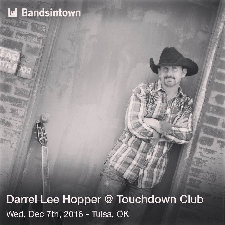 Darrel Lee Hopper Tour Dates