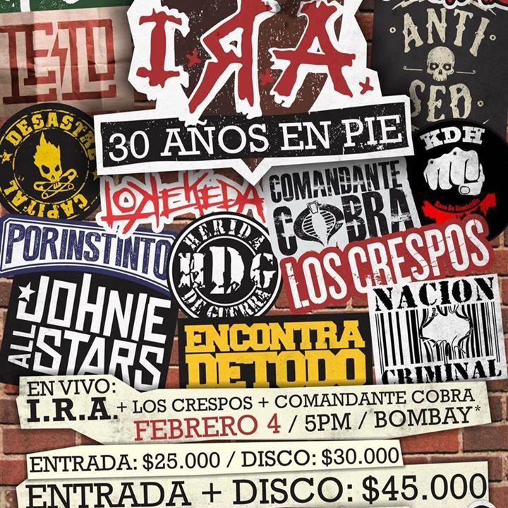 Los Crespos Tour Dates