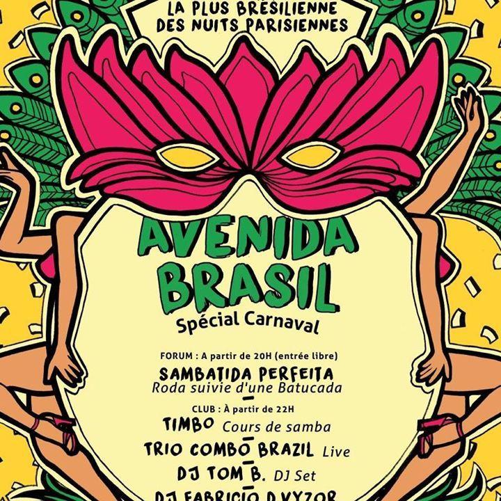 Avenida Brasil Tour Dates