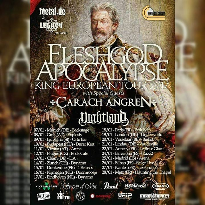Fleshgod Apocalypse @ State Theater - St. Petersburg, FL