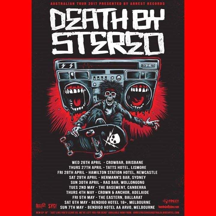 Death by Stereo @ The Observatory - Santa Ana, CA