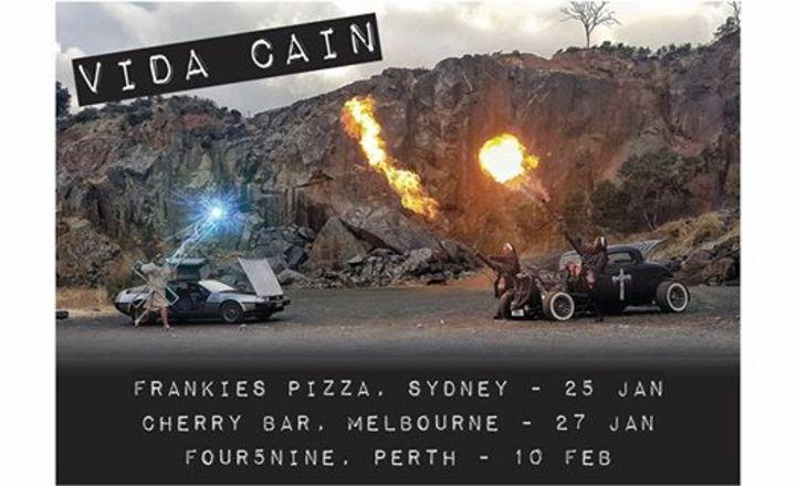 Vida Cain Tour Dates