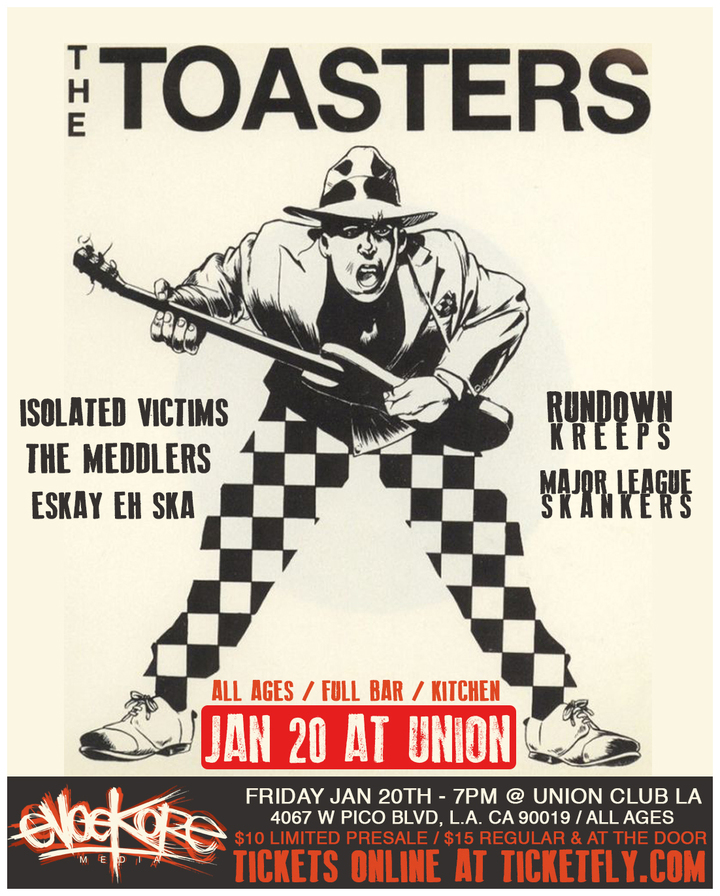The Toasters @ Union Club - Los Angeles, CA
