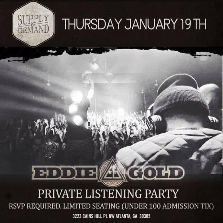 Eddie Gold Tour Dates
