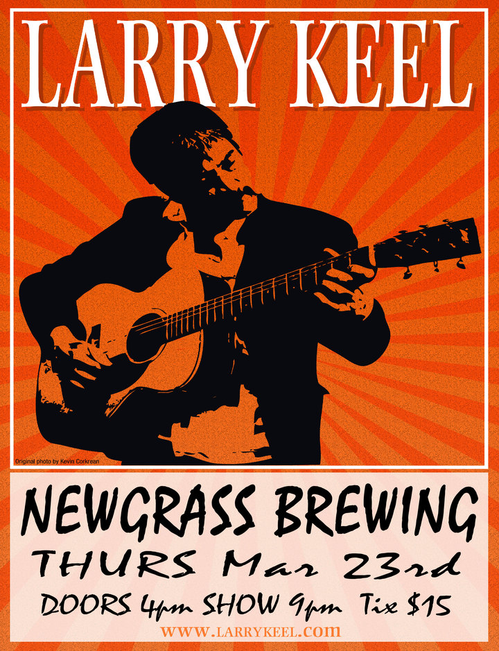 Larry Keel @ Newgrass Brewing CO - Shelby, NC