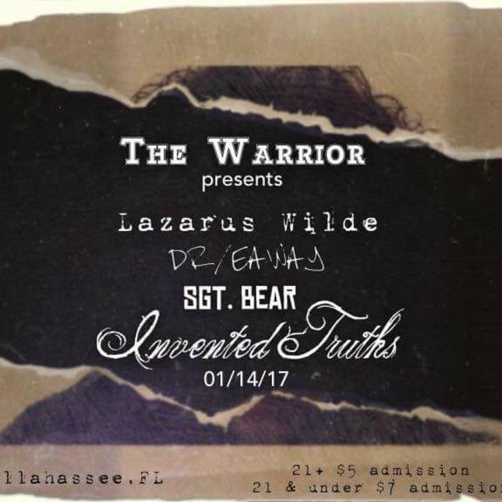 Sgt. Bear Tour Dates