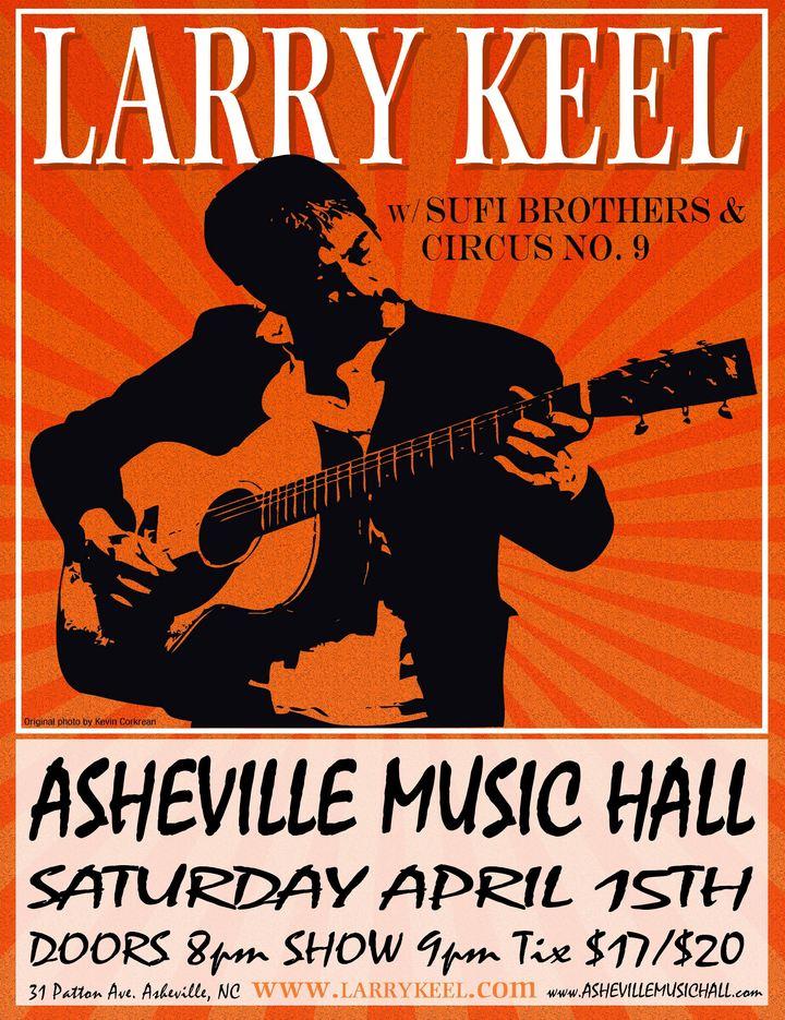 Larry Keel @ Asheville Music Hall - Asheville, NC