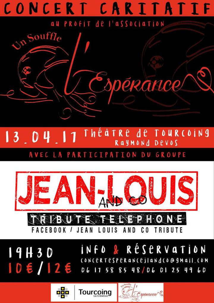 Jean Louis And Co tribute @ THEATRE R.DEVOS - Tourcoing, France