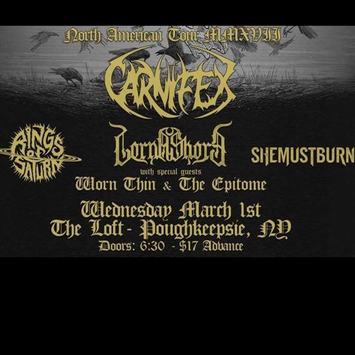 The Epitome Tour Dates