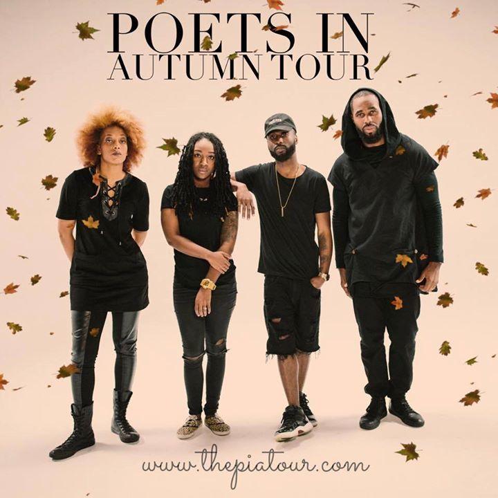 The Poets in Autumn Tour Tour Dates