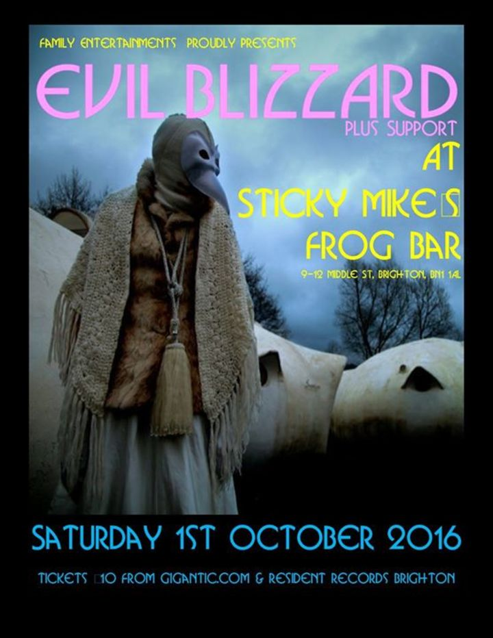 Evil Blizzard @ Exchange - Bristol, United Kingdom
