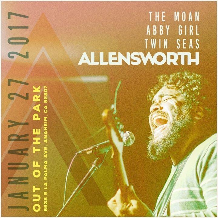 Allensworth Tour Dates