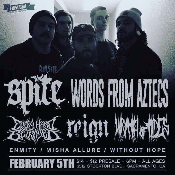 Enmity Tour Dates