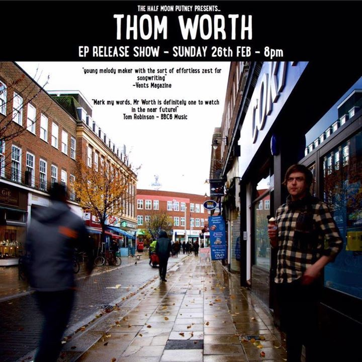 Thom Worth (Singer-Songwriter) Tour Dates