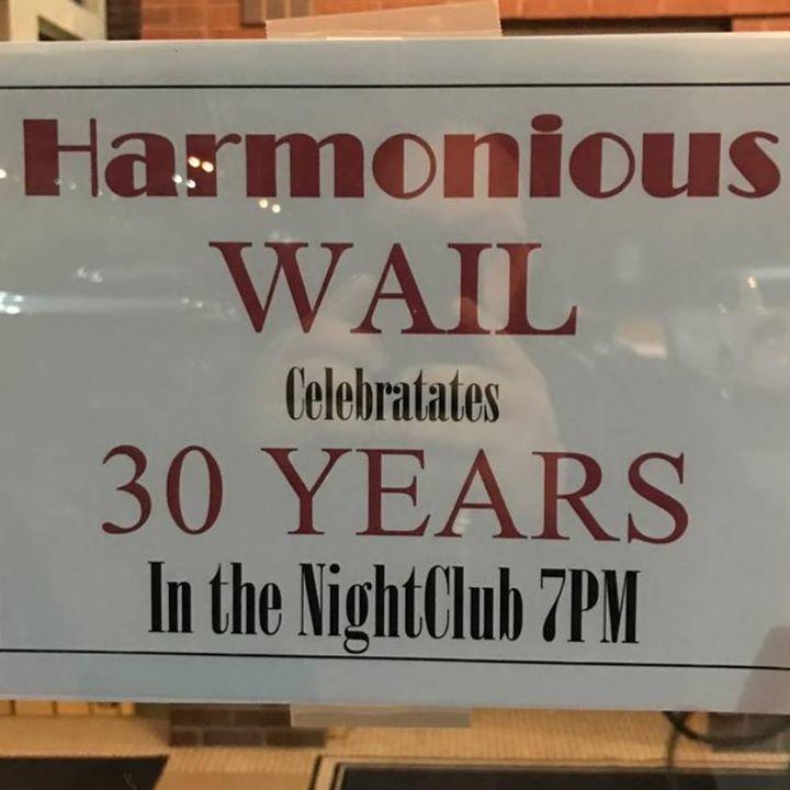 Harmonious Wail Tour Dates