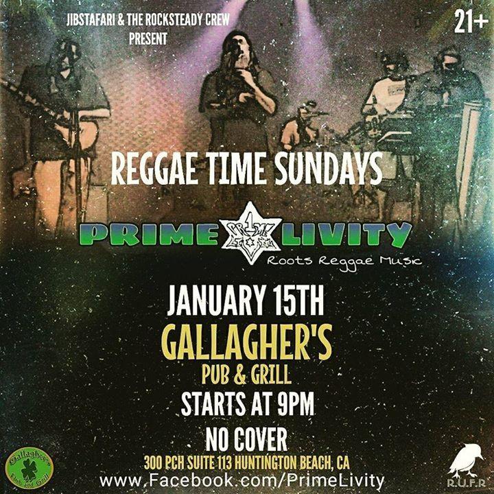 Prime Livity Tour Dates