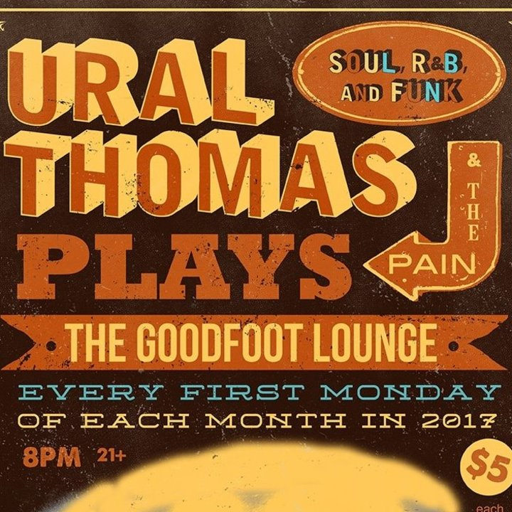 Ural Thomas & the Pain Tour Dates
