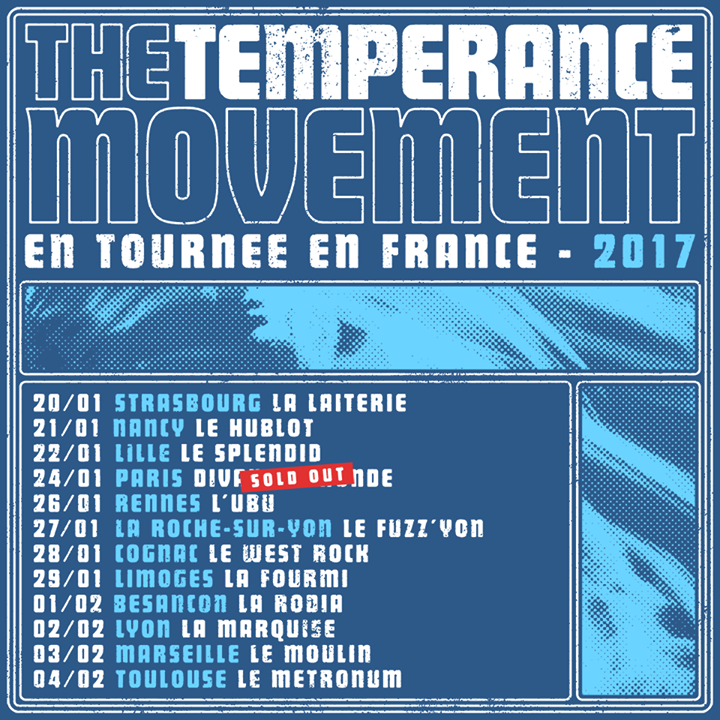 The Temperance Movement @ Lido - Berlin, Germany