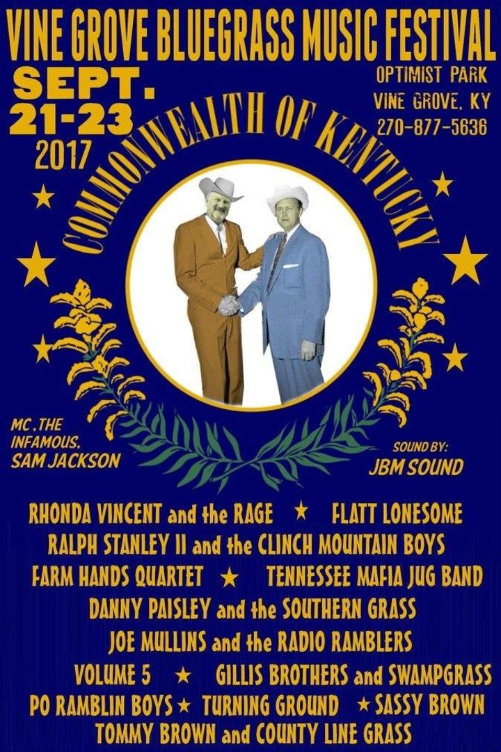 The Po' Ramblin' Boys @ Vine Grove Bluegrass Festival  - Vine Grove, KY