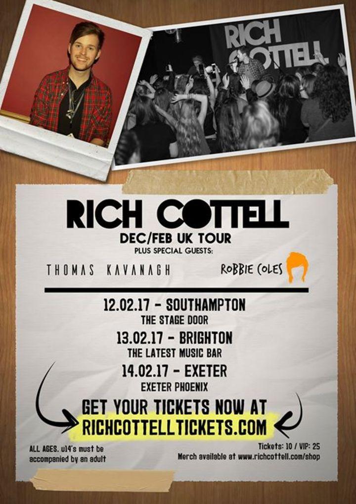 Rich Cottell @ O2 Academy 2 Newcastle - Newcastle, United Kingdom