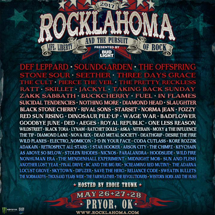 The Pretty Reckless @ Rocklahoma - Pryor, OK