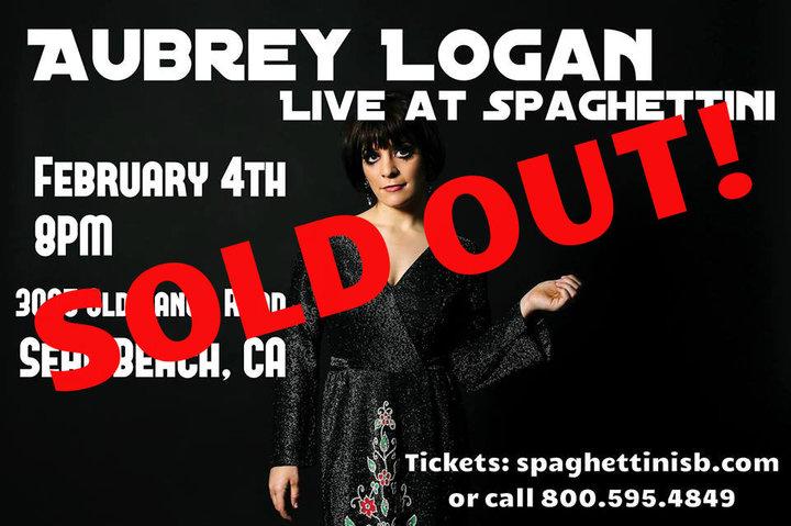 Aubrey Logan @ Spaghettini - Seal Beach, CA