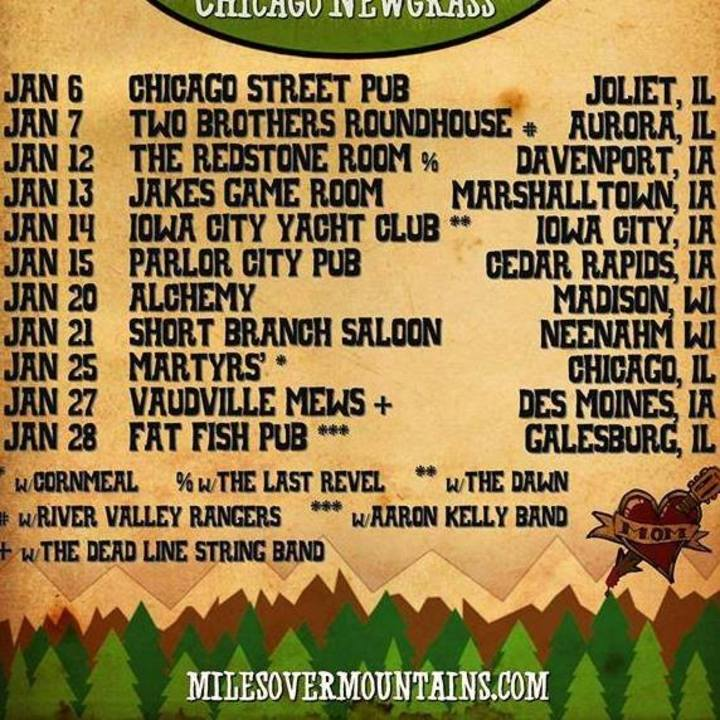 Miles Over Mountains Tour Dates