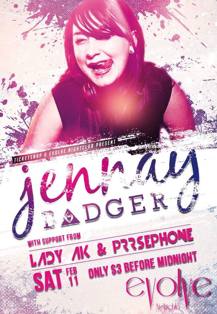 Jennay Badger Tour Dates