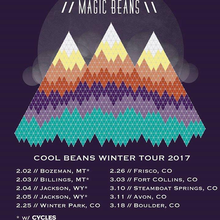 THE MAGIC BEANS Tour Dates
