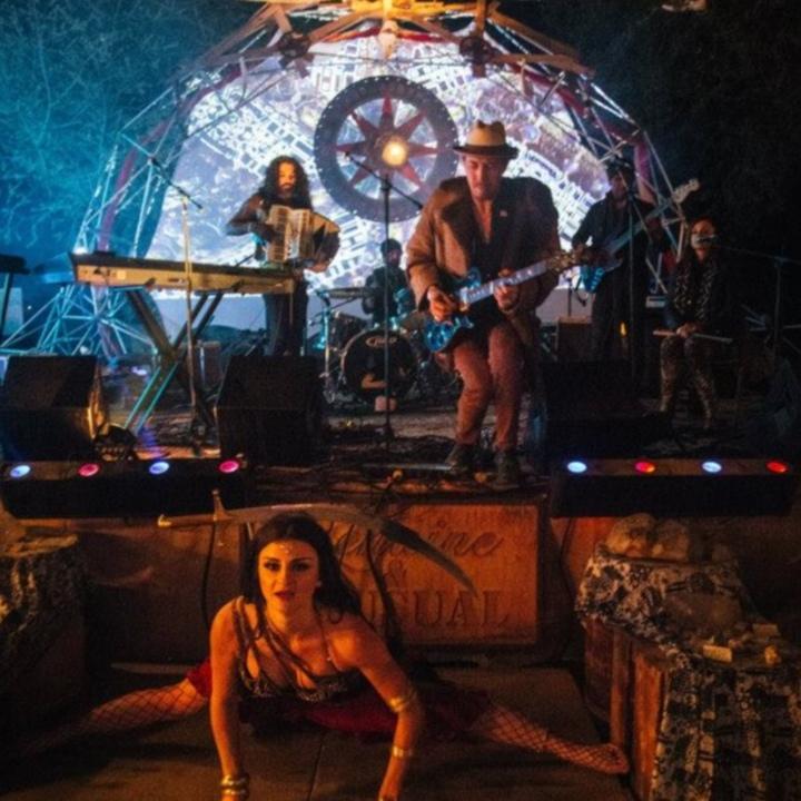 Lantz Lazwell & The Vibe Tribe @ The Blue  - Reno, NV