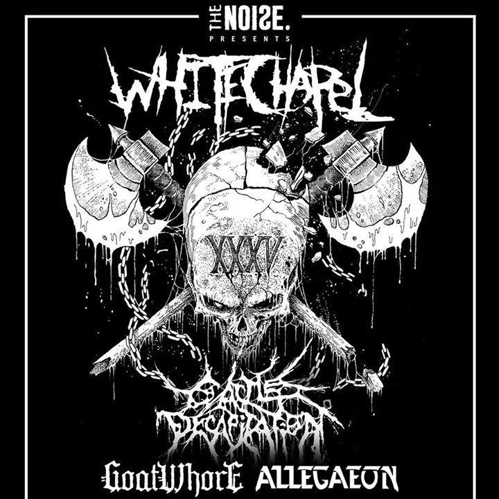 Whitechapel Tour Dates
