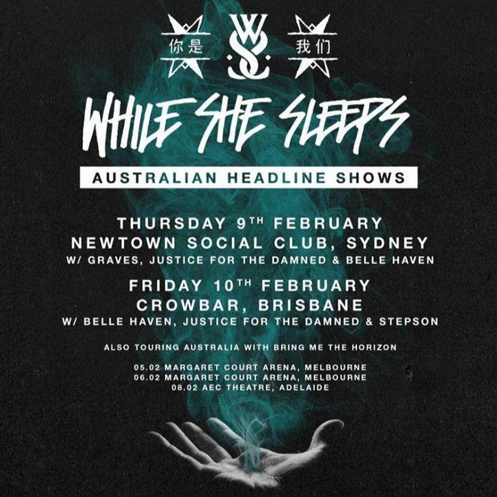 Graves Tour Dates