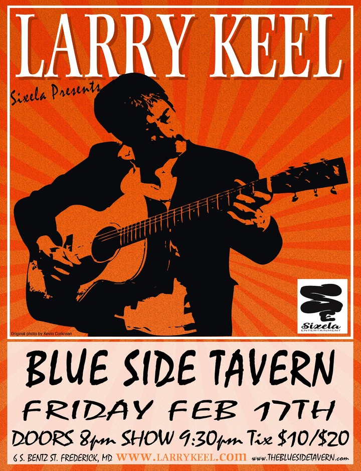 Larry Keel @ The Blue Side Tavern - Frederick, MD