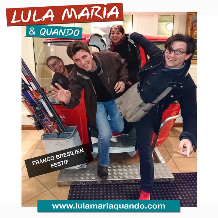 Lula Maria & Quando @ Le Vercors - Pont-En-Royans, France
