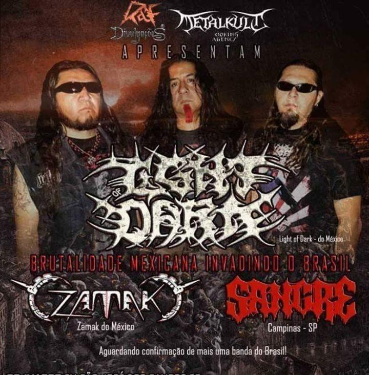 Light of Dark Tour Dates