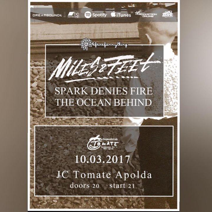 The Ocean Behind Tour Dates