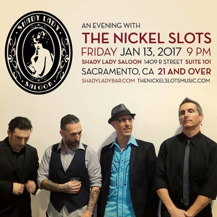 The Nickel Slots Tour Dates