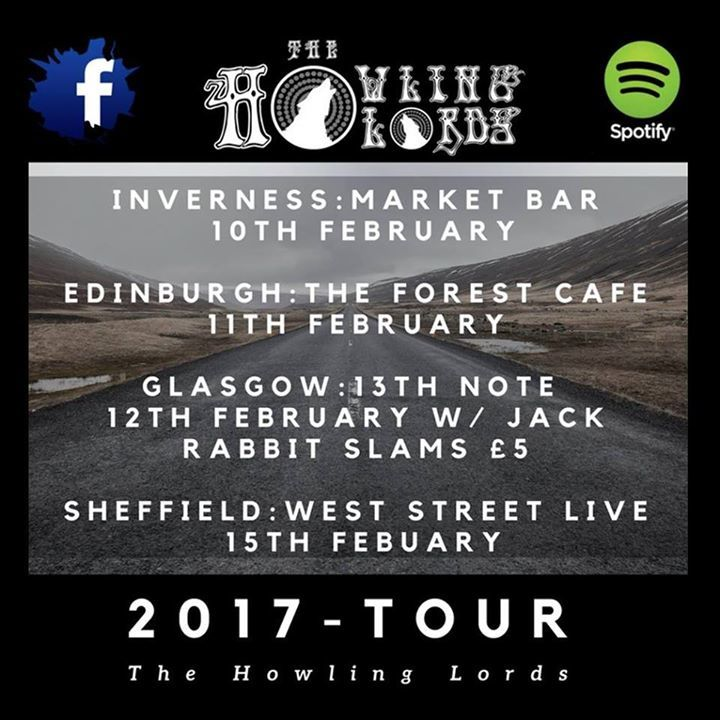 The Howling Lords Tour Dates
