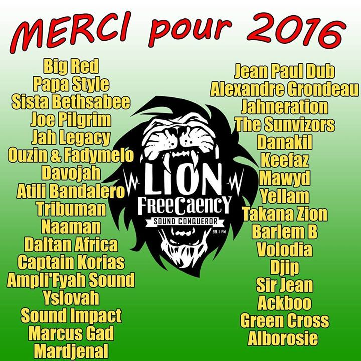 Lion FreeCaency Tour Dates