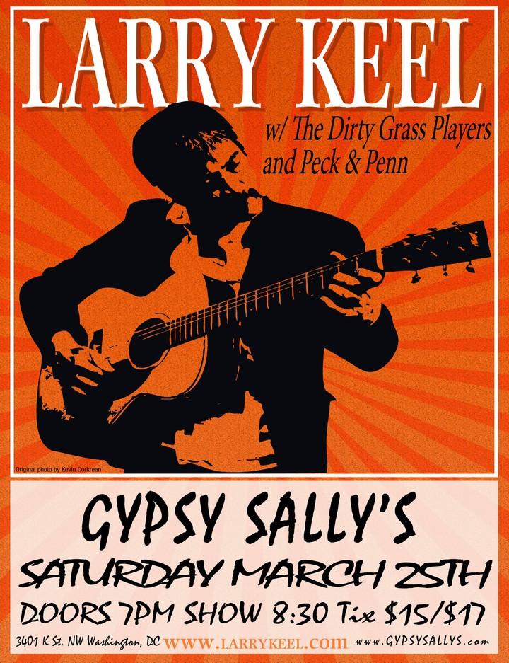 Larry Keel @ Gypsy Sally's - Washington, DC