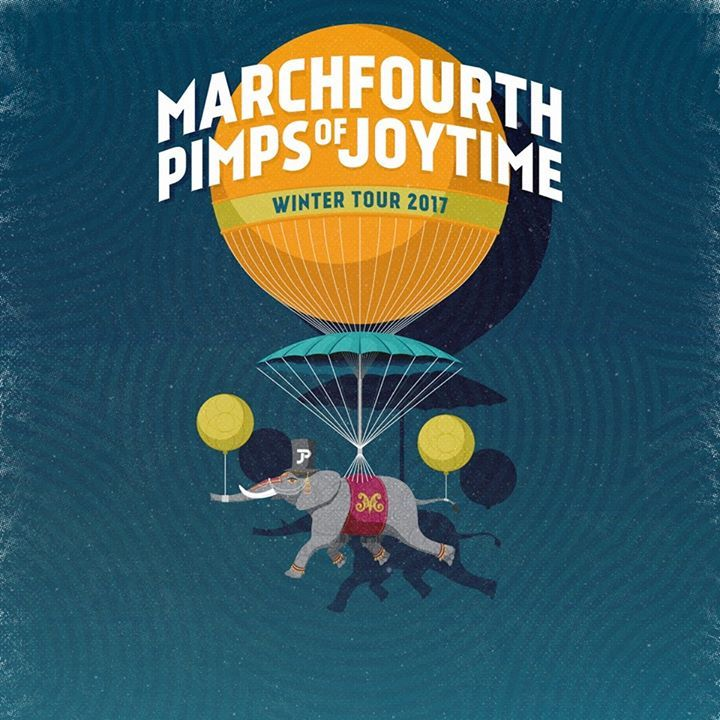 MarchFourth @ The Hive - Sandpoint, ID