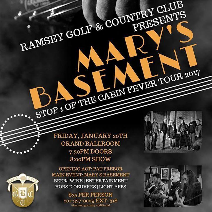 Mary's Basement Tour Dates