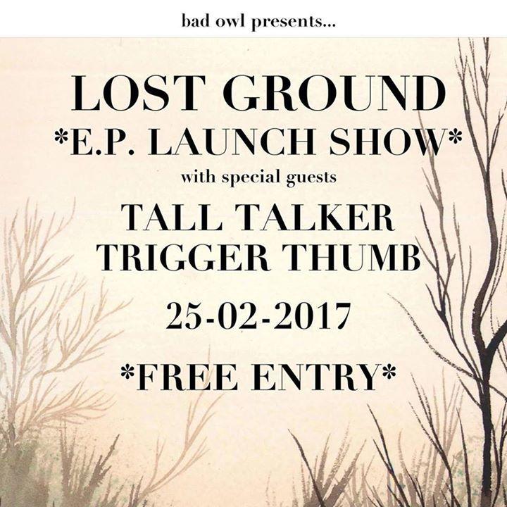 Lost Ground Tour Dates