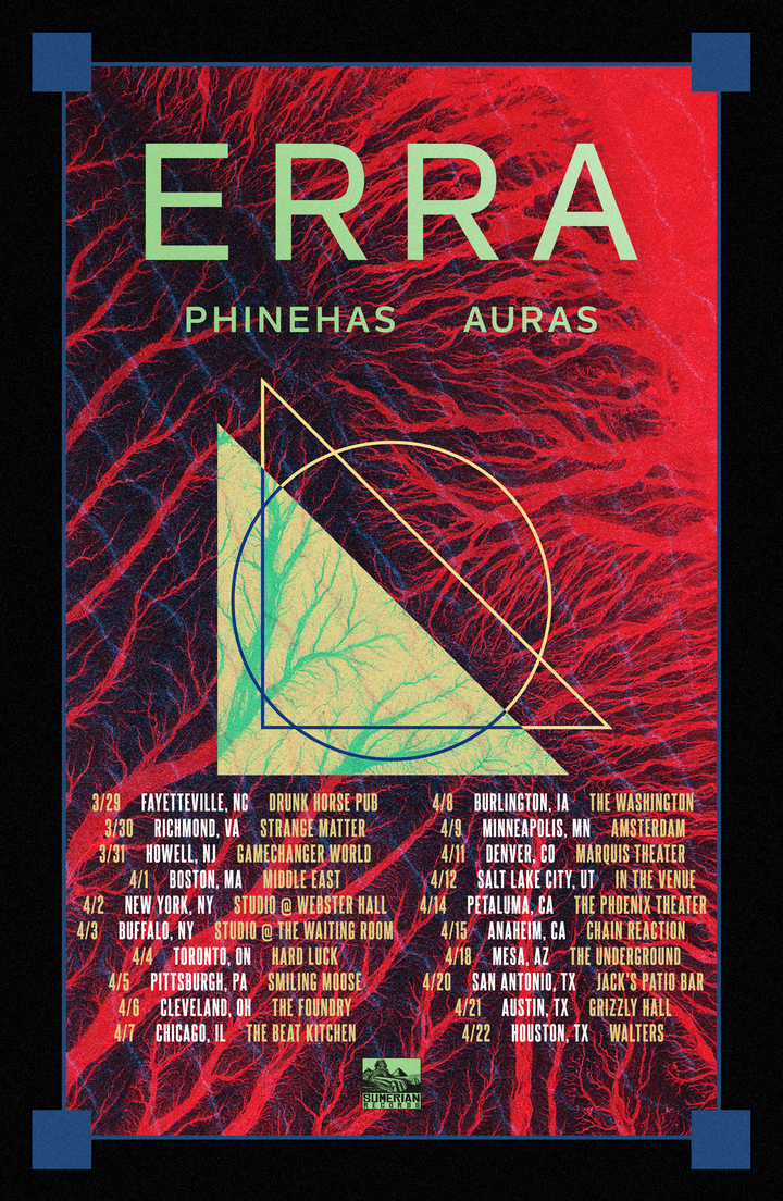 Erra Tour Dates