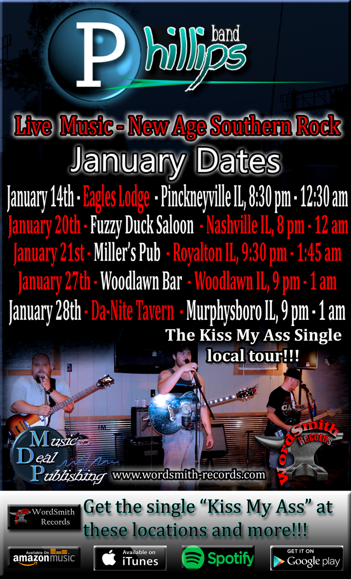 Phillips @ Pinkneyville Eagles Lodge - Pinckneyville, IL
