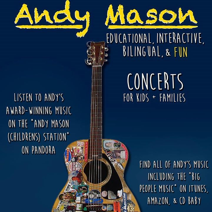 Andy Mason Music Tour Dates