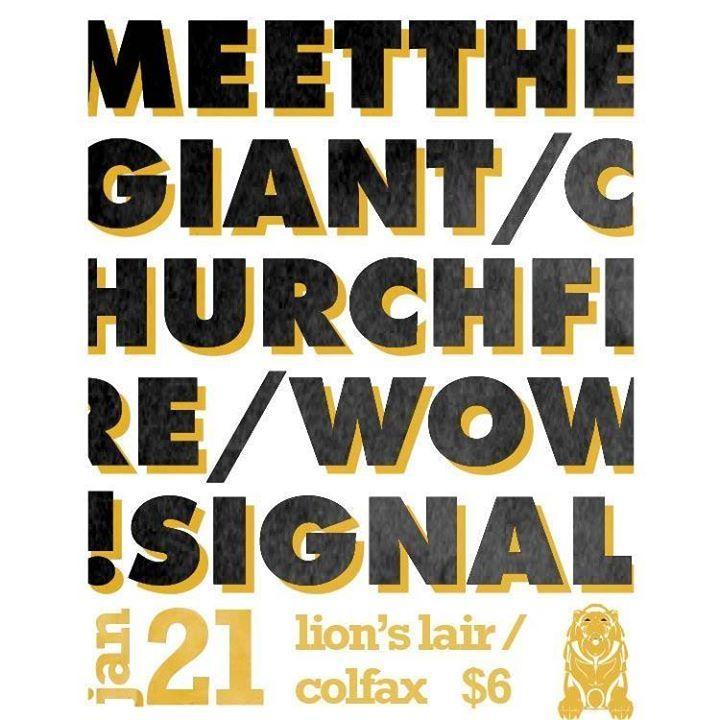 Meet The Giant Tour Dates