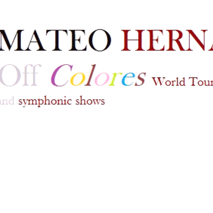 Mateo Hernández @ Melbourne Convention and Exhibition Centre (MCEC) - Melbourne, Australia