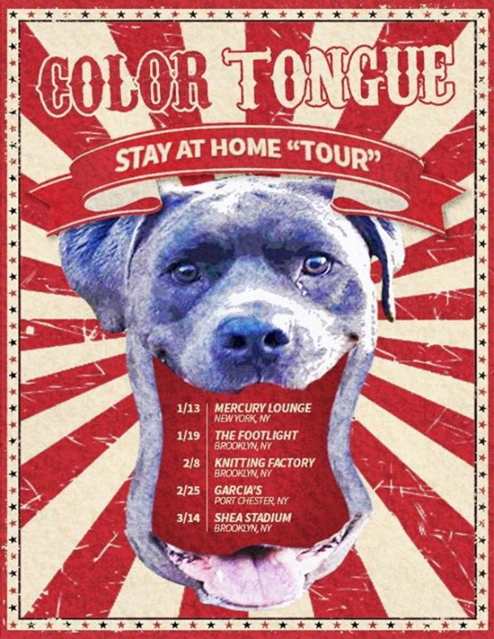 Color Tongue Tour Dates