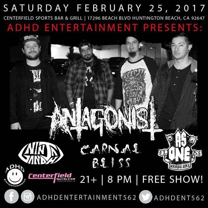 Antagonist Tour Dates